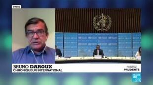 2020-05-18 09:01 Pandémie de Covid-19 : réunion virtuelle des 194 États membres de l'OMS