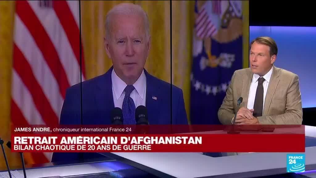 2021-08-31 15:02 Retrait américain d'Afghanistan : bilan chaotique de 20 ans de guerre