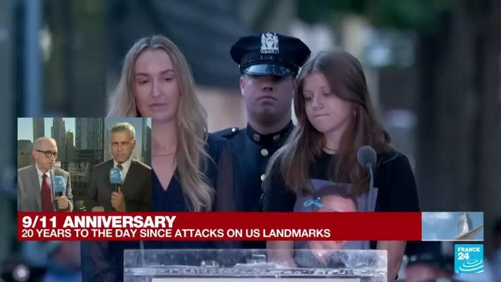 2021-09-11 15:50 'A message of resilience': Americans reflect on 20th anniversary of 9/11