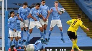 Ligue champions manchester city Dortmund