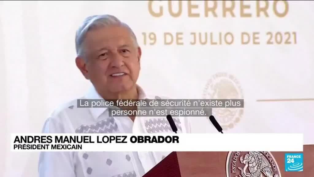 2021-07-20 10:06 Le Mexique au coeur de l'affaire Pegasus