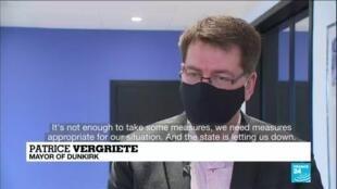 2021-02-16 09:08 Coronavirus pandemic in France: Dunkirk mayor slams govt's response to British variant