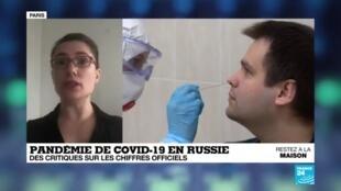 2020-05-04 17:06 Covid-19 en Russie : le pays recense plus de 145 000 cas et au moins 1 350 morts