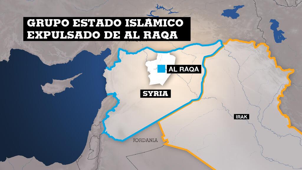'Estado Islámico' fue expulsado de Raqa