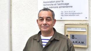 Christian Varoujan Artin, le 22 mars à Marseille.