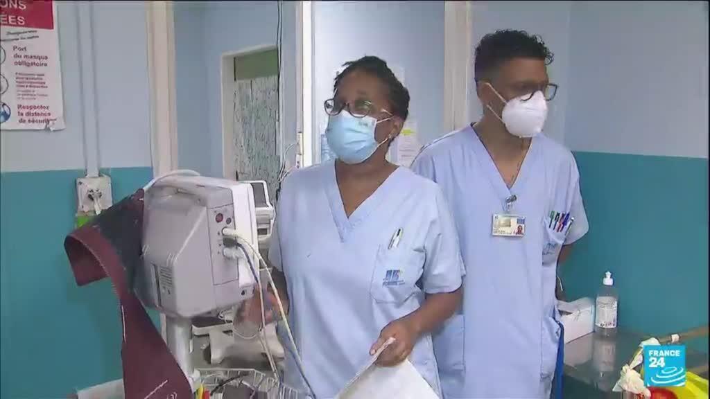 2021-08-12 10:39 Covid-19 : confinement durci en Guadeloupe, les hôpitaux saturés