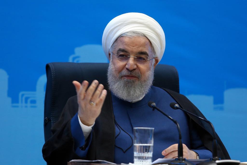 El presidente de Irán, Hasan Rohaní, ha dicho que está abierto a negociar con EE. UU. si éste elimina las sanciones económicas impuestas.