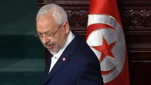 راشد الغنوشي زعيم حركة النهضة التونسية