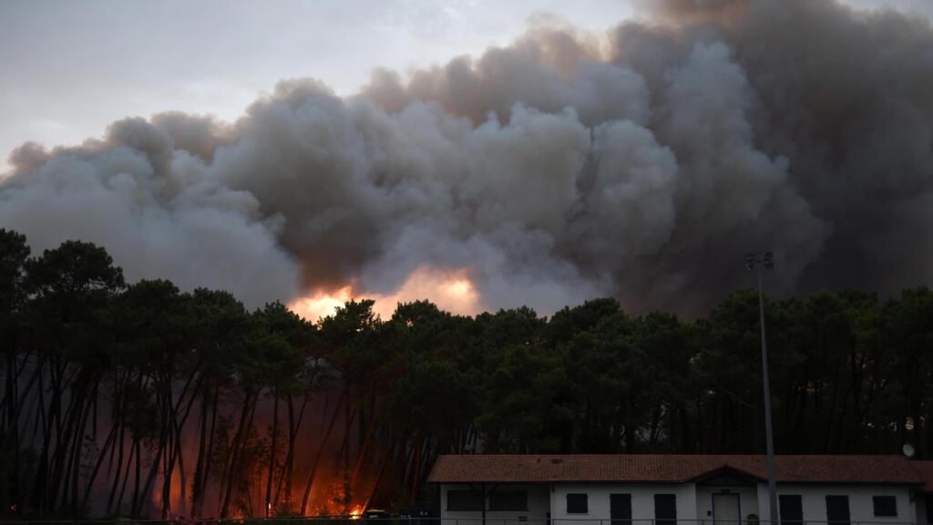 Un incendie ravage 165 hectares de végétation dans le sud-ouest de la France