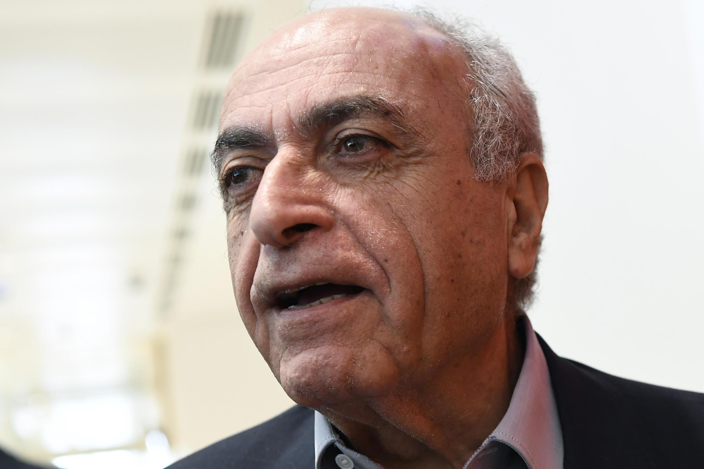 Ziad Takieddine à Paris le 7 octobre 2019