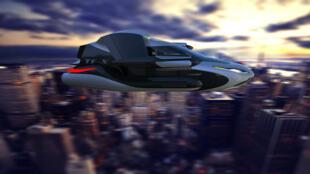 Le concept de voiture volante TF-X de l'entreprise Terrafugia.