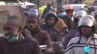 2021-01-13 18:07 En vísperas de las elecciones presidenciales, Uganda suspende el acceso a las redes sociales