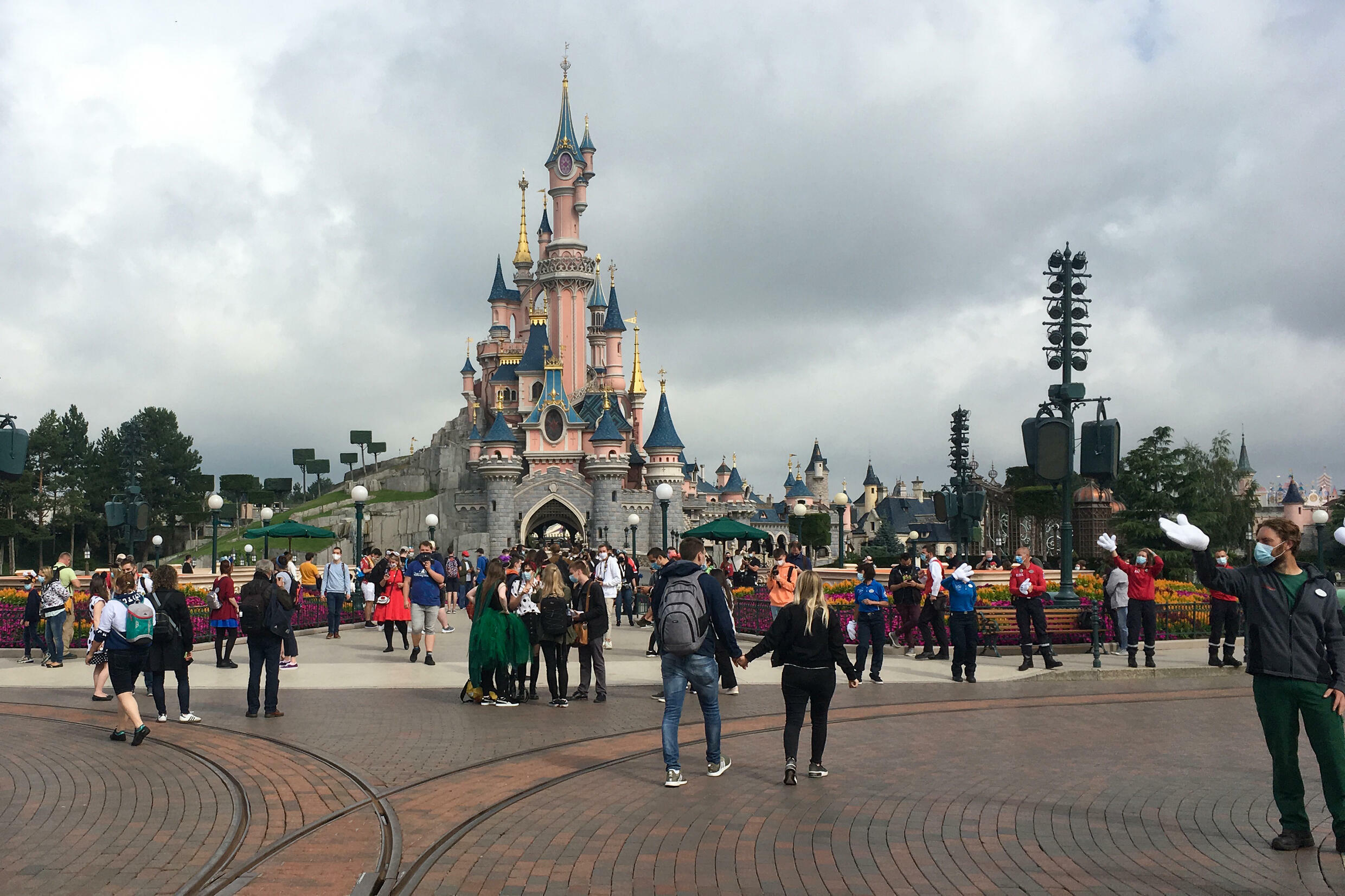 Disneyland said it 'profoundly regrets this situation' after the incident drew ire