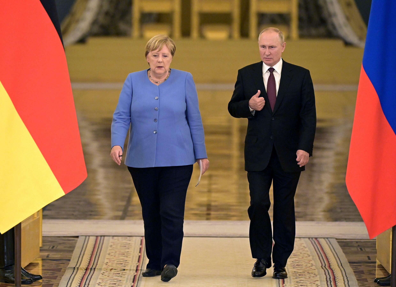 Merkel y Putin 2