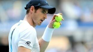 Le Britannique Andy Murray face à l'Espagnol Fernando Verdasco lors de l'US Open, le 29 août 2018 à New York
