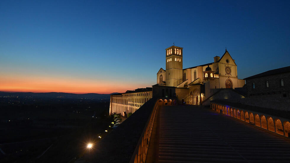 The Basilica of Saint Francis of Assisi, who 15-year-old Carlo Acutis idolised