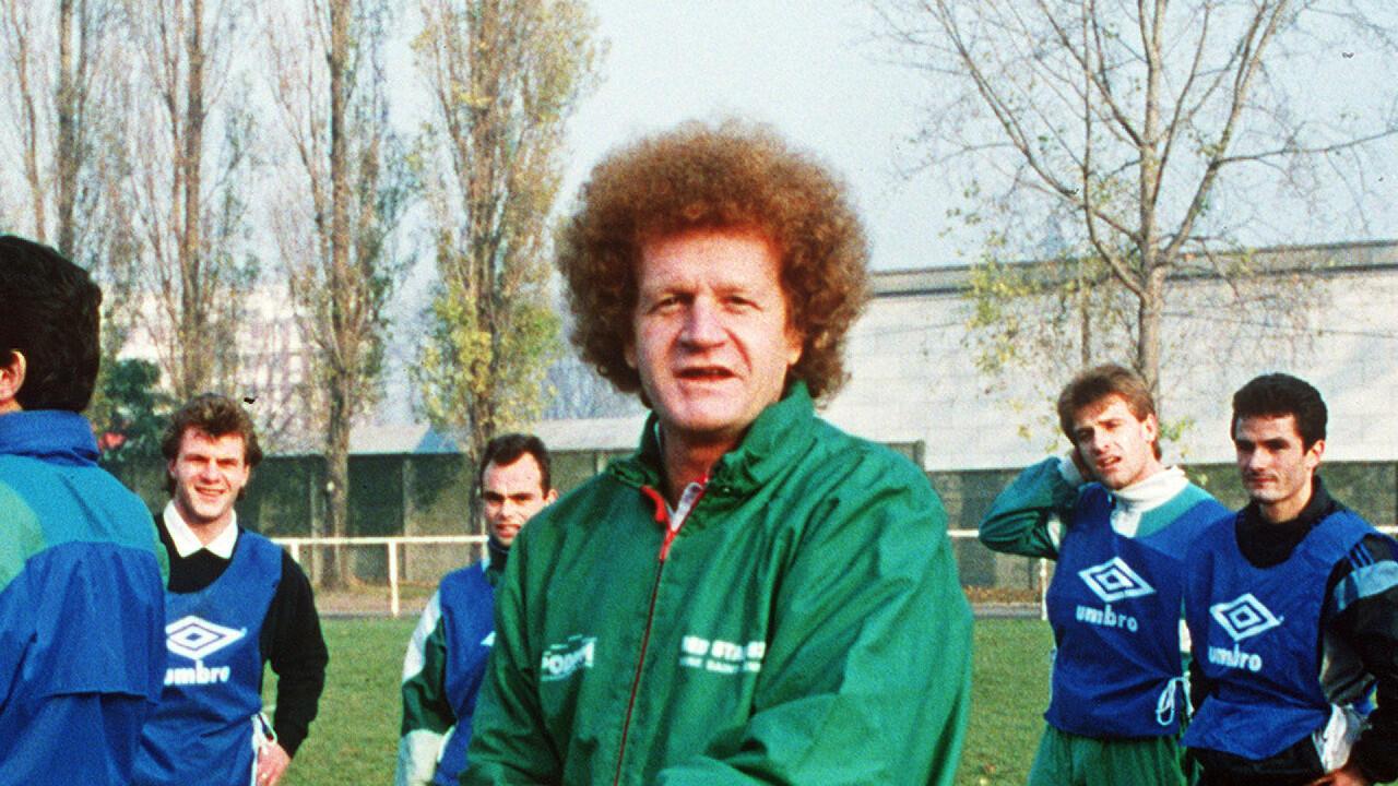 المدرب الفرنسي روبير هيربان عام 1981.