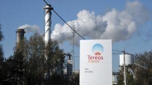 La raffinerie Tereos de Lillers(Pas-de-Calais) en novembre2011.