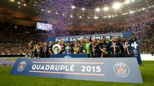 L'an passé, le PSG a écrasé la concurrence sur les compétitions domestiques