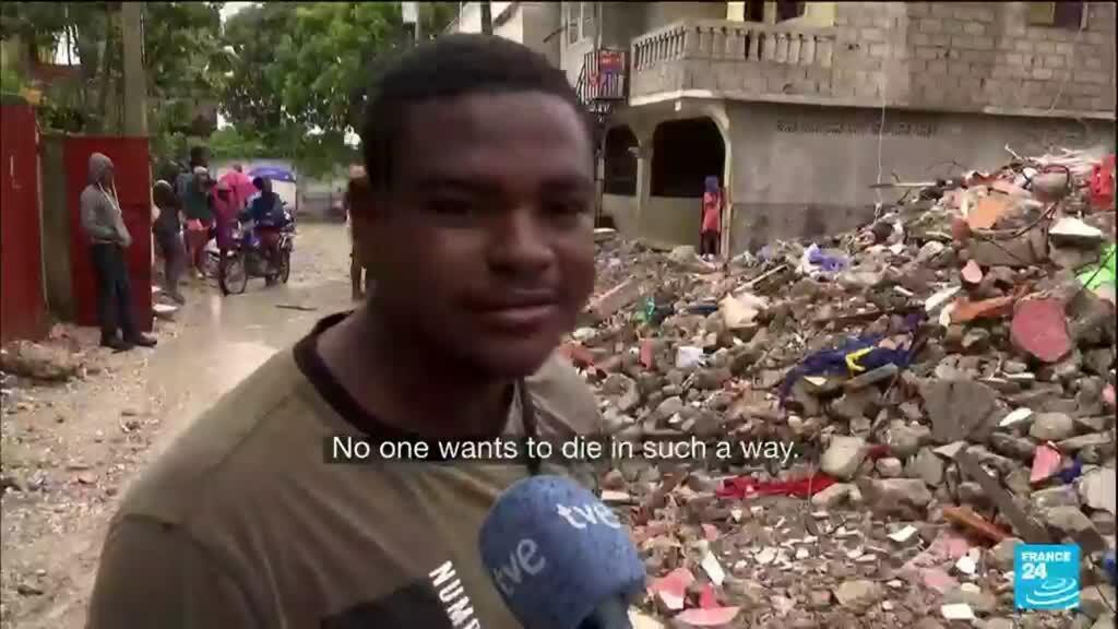 2021-08-20 18:10 Aid struggles to reach remote areas of Haiti quake zone