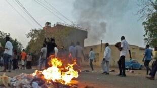 احتجاجات مناهضة للحكومة في مدينة أم درمان 29 يناير/كانون الثاني 2019