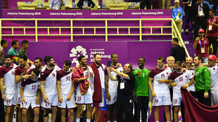 احرز منتخب قطر لكرة اليد بطولة اسيا اربع مرات تواليا