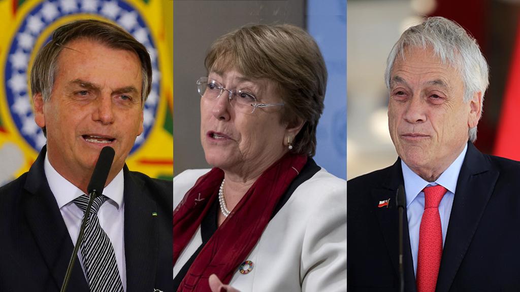 Las palabras de Bolsonaro contra Bachelet provocaron un rechazo unánime en Chile.