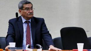El exjefe de inteligencia de Guatemala, José Mauricio Rodríguez, durante el juicio en su contra el 26 de septiembre de 2018.