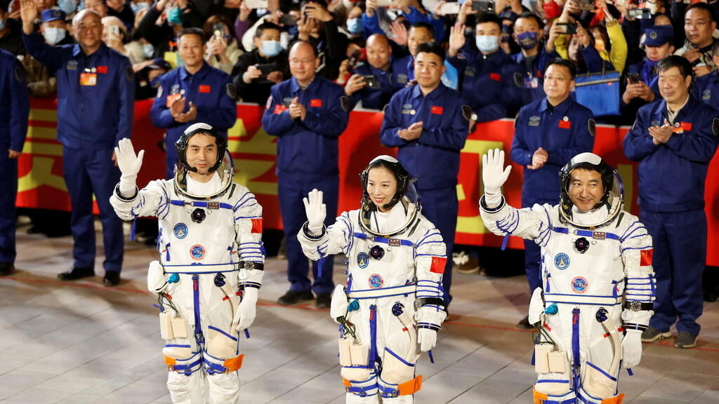 China launches second crew on six-month mission to space station