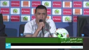 حارس مرمى المنتخب المصري عصام الحضري