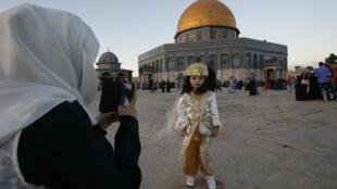 L'Esplanade des Mosquées à Jérusalem, Mont du Temple pour les juifs, est au cœur d'un projet de résolution de l'Unesco dénoncée par Israël.