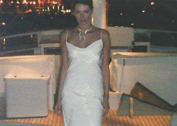 Samantha Panagrosso, en 2003, au Festival de Cannes.