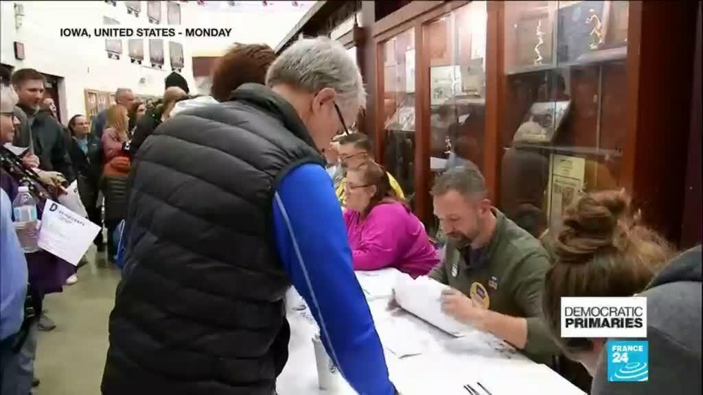 2020-02-04 10:31 Iowa caucus results delayed in confusing start to 2020 Democratic primaries