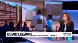 Camille Romain Des Boscs et la situation des enfants-soldats dans le monde