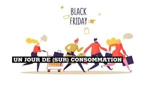 Le Black Friday, lendemain de Thanksgiving lance traditionnellement la saison des achats de Noël