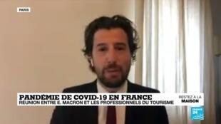 2020-04-24 09:03 Covid-19 : Réunion entre Emmanuel Macron et les professionnels du tourisme