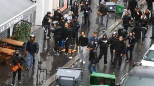 Capture d'écran d'une vidéo des affrontements rue de la Roquette, le 13 juillet, postée sur YouTube