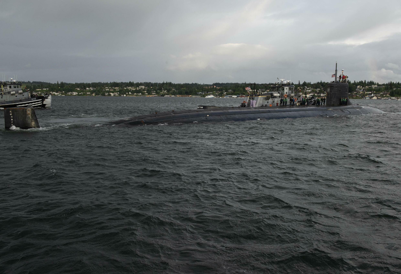 US Submarine South China Sea