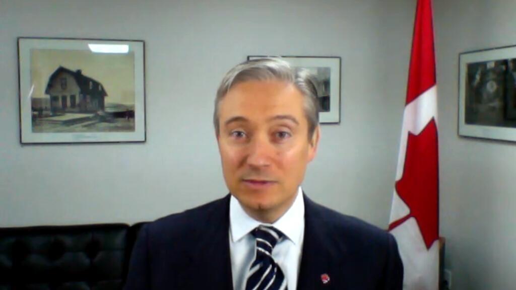 """F.-P. Champagne, chef de la diplomatie canadienne : """"Au Canada aussi, il y a du racisme systémique"""""""