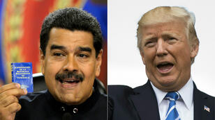 """Début août, les États-Unis ont infligé des sanctions à Nicolas Maduro qu'ils ont qualifié de """"dictateur""""."""