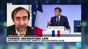 2021-02-16 13:12 What's in France's draft law against 'Islamist separatism'?