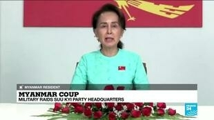 "2021-02-03 11:03 ""I don't have much hope"": Myanmar resident reports on the situation after coup"