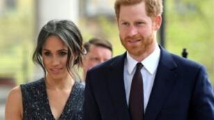 الأمير هاري وخطيبته ميغان ماركل.