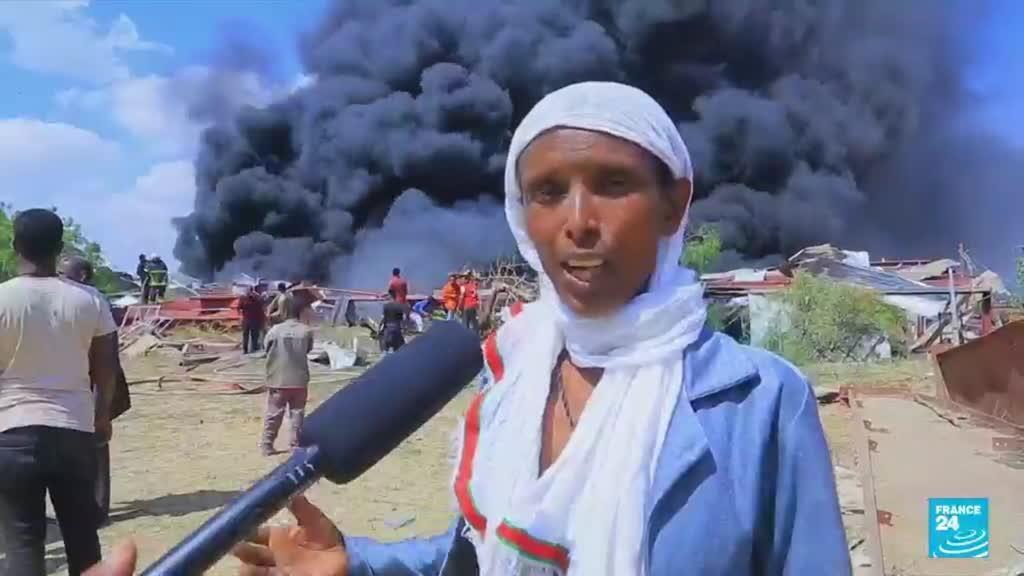 2021-10-21 08:04 Ethiopia launches new air strike on Tigray capital