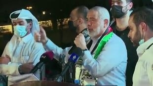 رئيس المكتب السياسي لحركة حماس، إسماعيل هنية.