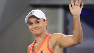 World number one Ashleigh Barty is into the semi-finals of the Yarra Valley Classic