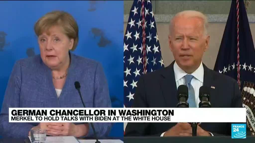 2021-07-15 12:02 Merkel, Biden face tough talks on Russian gas pipeline, China