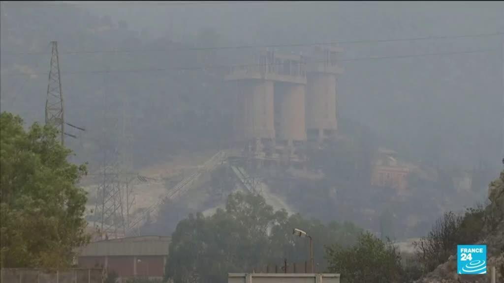 2021-08-05 10:40 Incendies en Turquie : le feu aux portes d'une centrale thermique à Milas