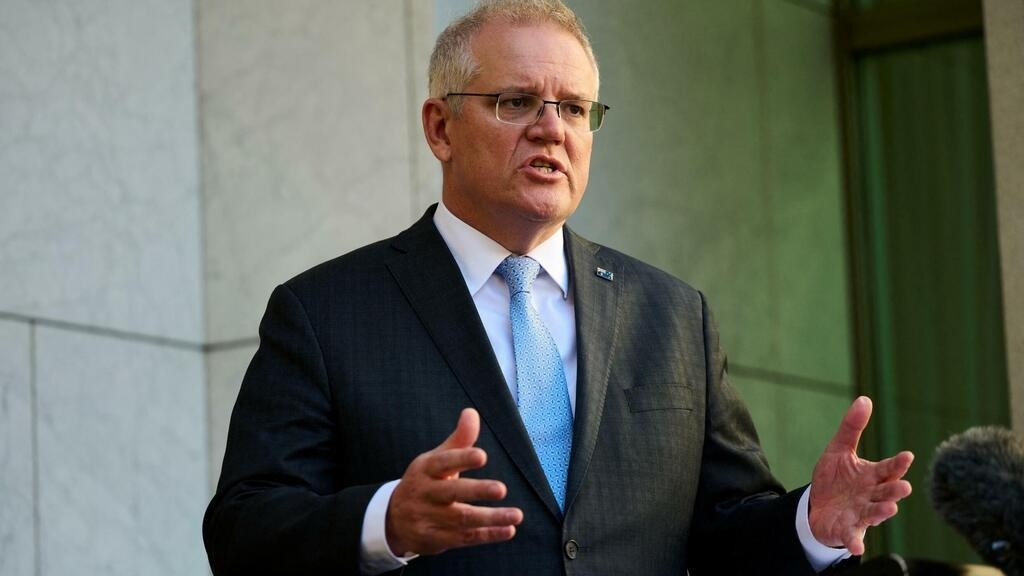 PM Morrison rejects France's accusation that Australia lied over cancelled submarine deal