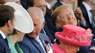 US President Donald Trump and French President Emmanuel Macron were among those to commemorate the 75th anniversary of the D-Day landings in Portsmouth, southern England, on Wednesday